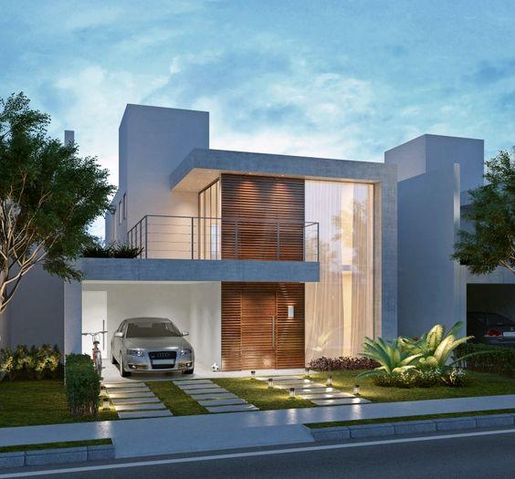 Fachadas de casas os modelos mais incr veis para for Casas modernas clasicas