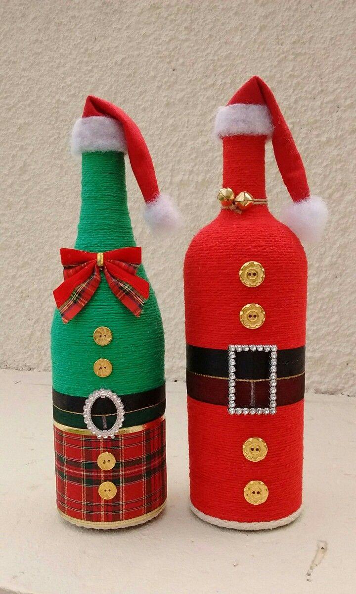 garrafas decoradas albuquerque de natal