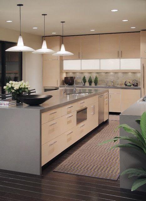 Cozinhas modernas veja de 100 modelos incr veis e lindos Kitchen design for elderly