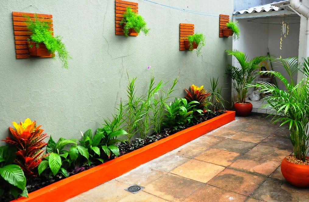 jardins pequenos area externa
