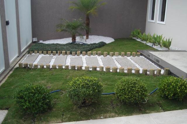 jardins pequenos na entrada