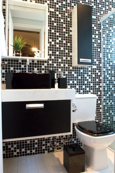 #400600 Banheiros Simples Veja Mais de 120 Modelos Lindos 400x600 px Banheiro Simples E Bonito Branco 3795