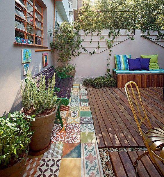 Jardins pequenos mais de 60 modelos incr veis e lindos for Jardins pequenos e simples