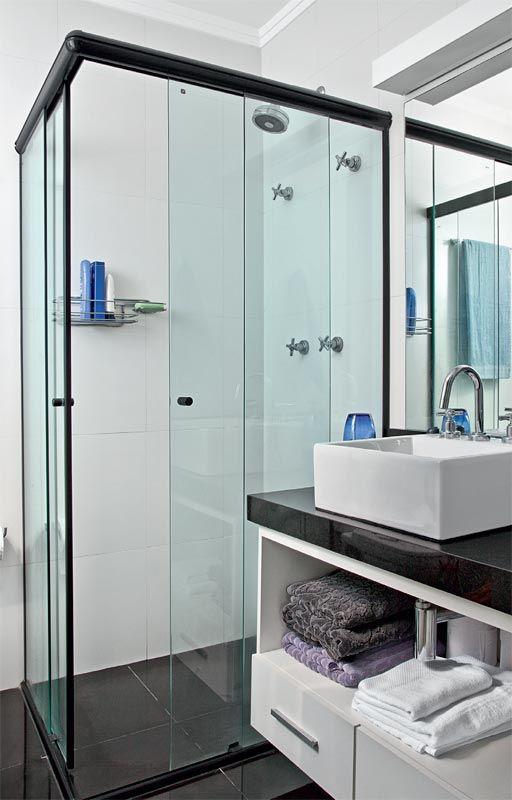 Banheiros simples veja mais de 120 modelos lindos for Modelos de apartamentos modernos
