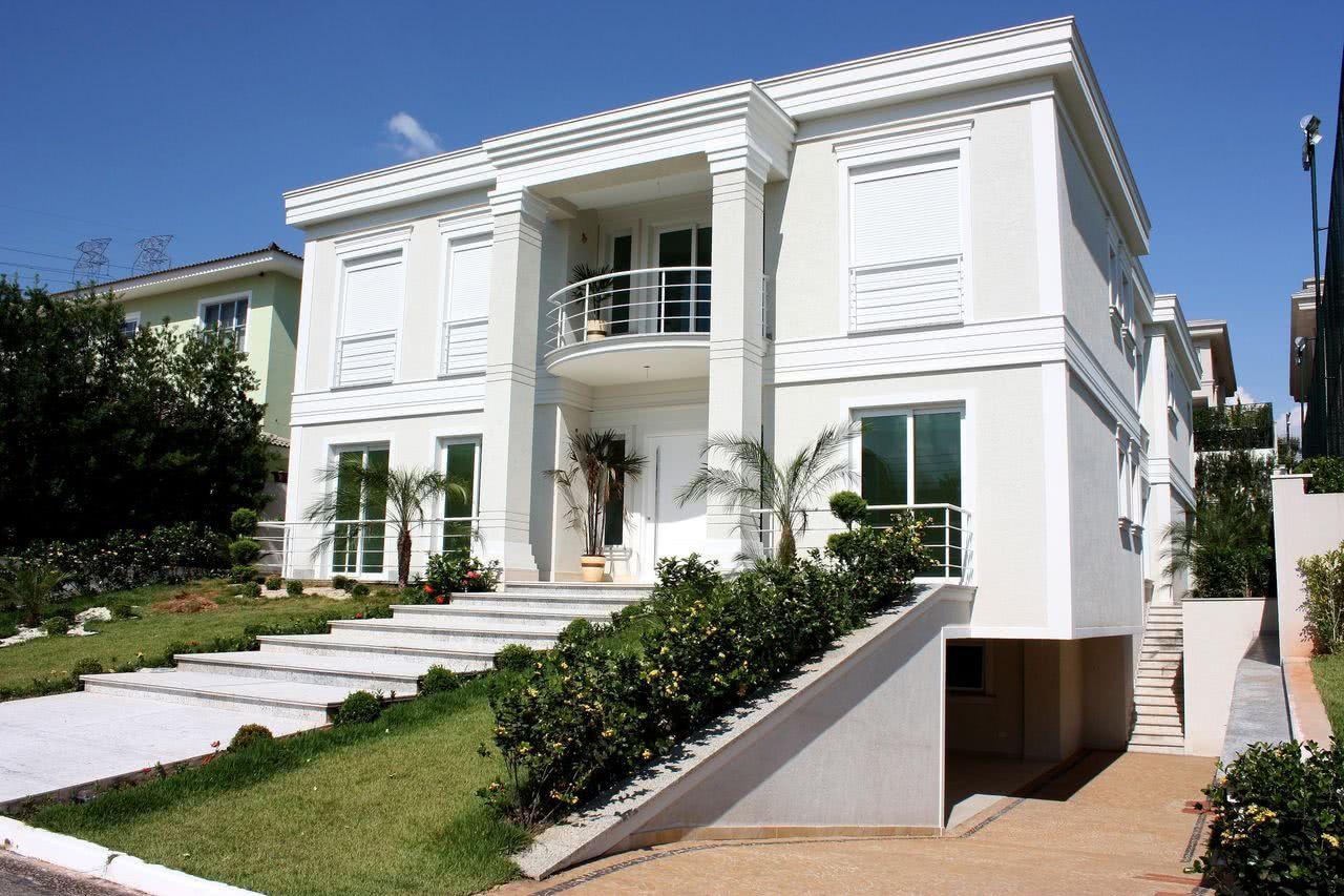 Fachadas de sobrados veja 110 modelos modernos e lindos - Casas tipo americano ...
