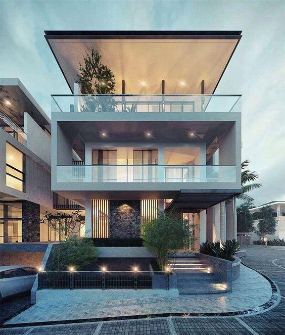 Modern Villa Designs Modern Home Designs: Veja 110 Modelos Modernos E Lindos