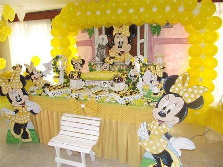 Festa da minnie amarela