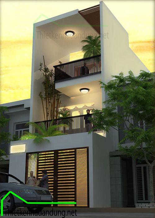 Fachadas de sobrados veja 110 modelos modernos e lindos for Diseno de casas angostas