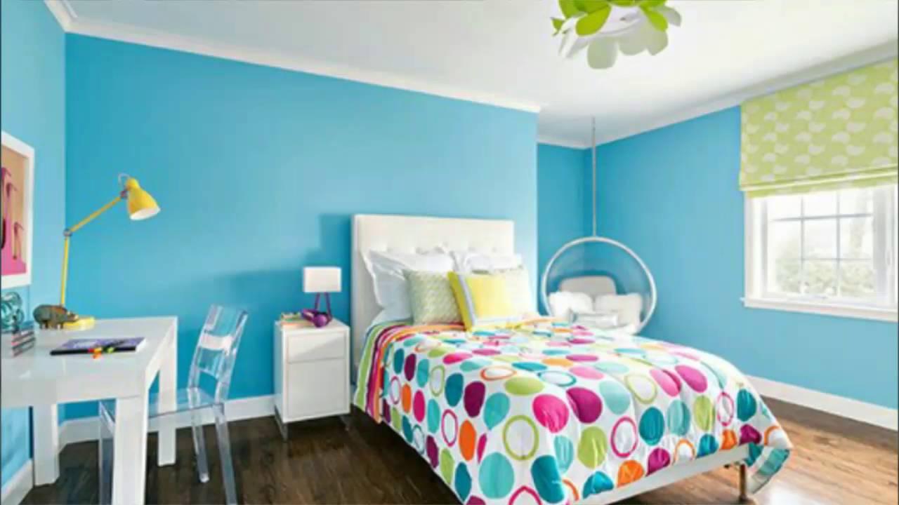 Quarto azul turquesa e tiffany 70 modelos para voc - Azul turquesa pared ...
