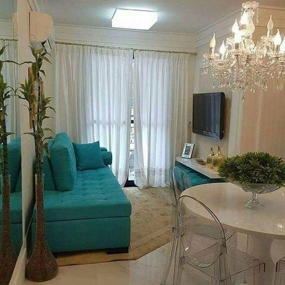 Sala de jantar pequena veja 70 modelos com dicas e fotos for Pintado de salas pequenas