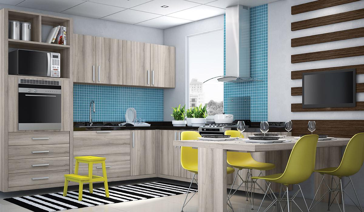 Cozinha Azul Veja Mais De 70 Modelos Para Renovar Sua Cozinha