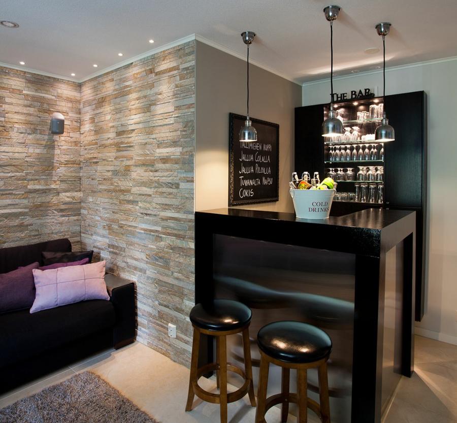 Bar de parede veja mais de 60 modelos para voc fazer - Como decorar un bar pequeno ...
