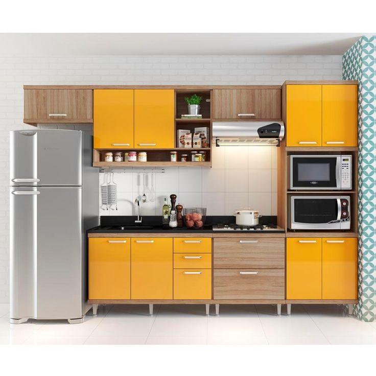 Cozinha Amarela Veja 65 Modelos Para Se Inspirar Hoje