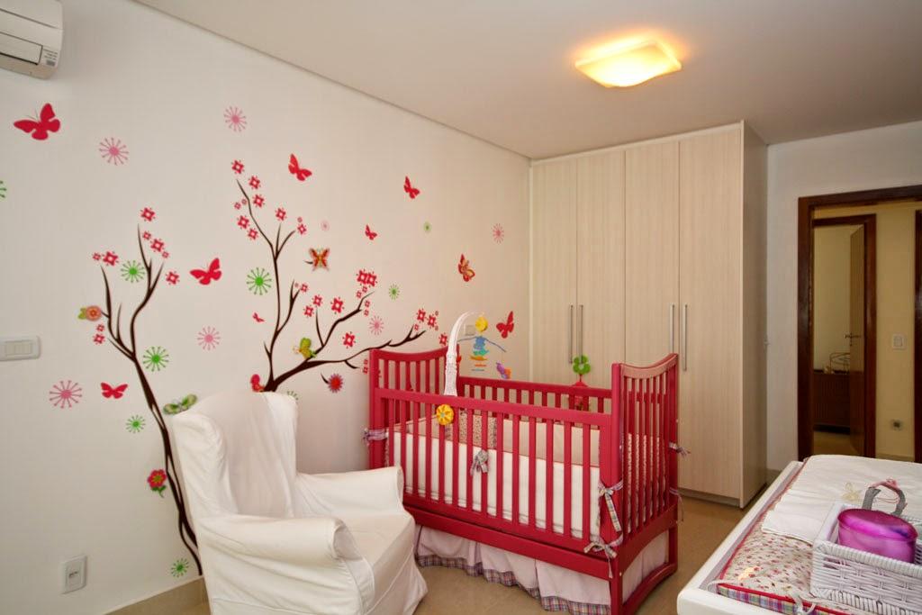 Decora o de quartos femininos veja 80 modelos com fotos - Papel para paredes baratos ...