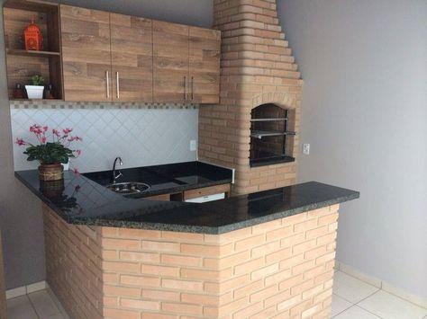 Varanda com churrasqueira 110 modelos lindos com super dicas for Churrasqueira e piscina