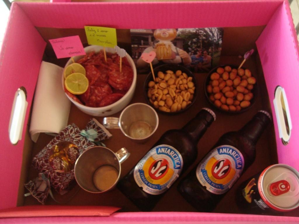 Festa Na caixa doces