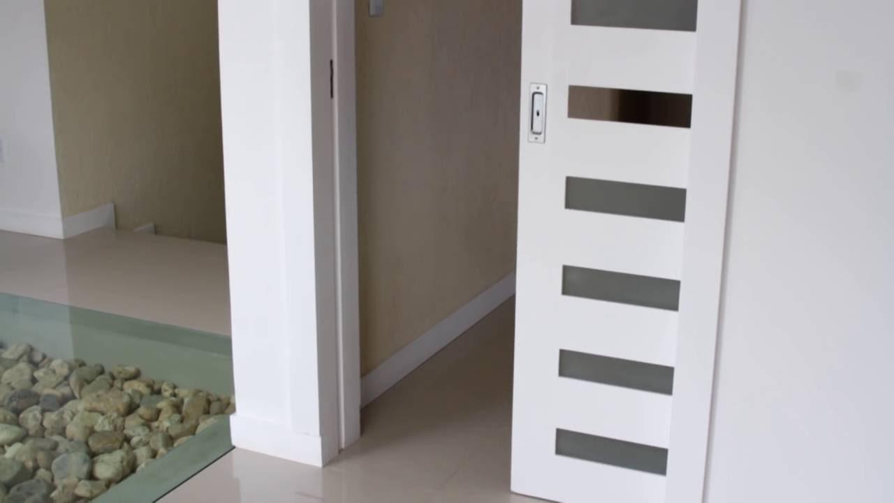 Porta De Correr 70 Modelos Materiais E Vantagens