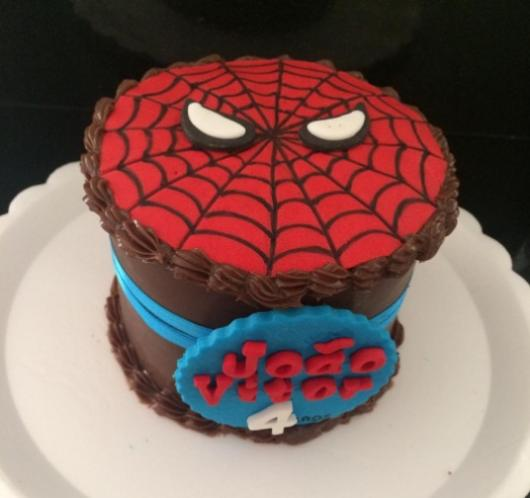 Bolo do homem aranha 60 fotos e como voc mesmo fazer 57 bolo do homem aranha simples altavistaventures Gallery