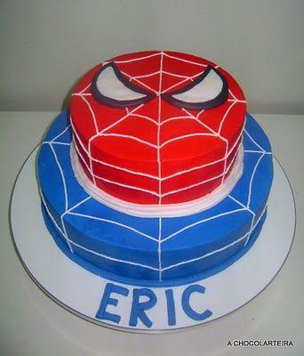 Bolo do homem aranha 60 fotos e como voc mesmo fazer bolo do homem aranha de dois andares altavistaventures Image collections