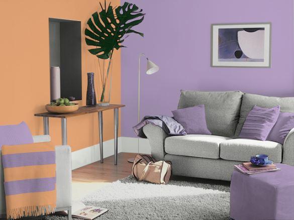 Cores que combinam com lilás