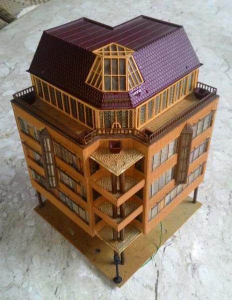 Maquete de prédioo