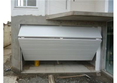 Portão de alumínio articuladoo