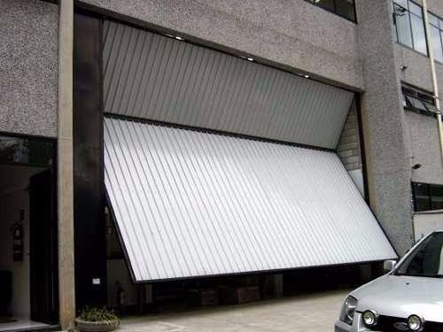 Portão de alumínio com motor
