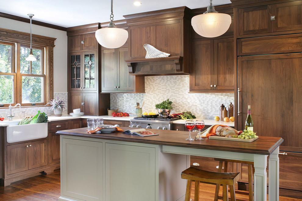 cozinha americana simples rustica