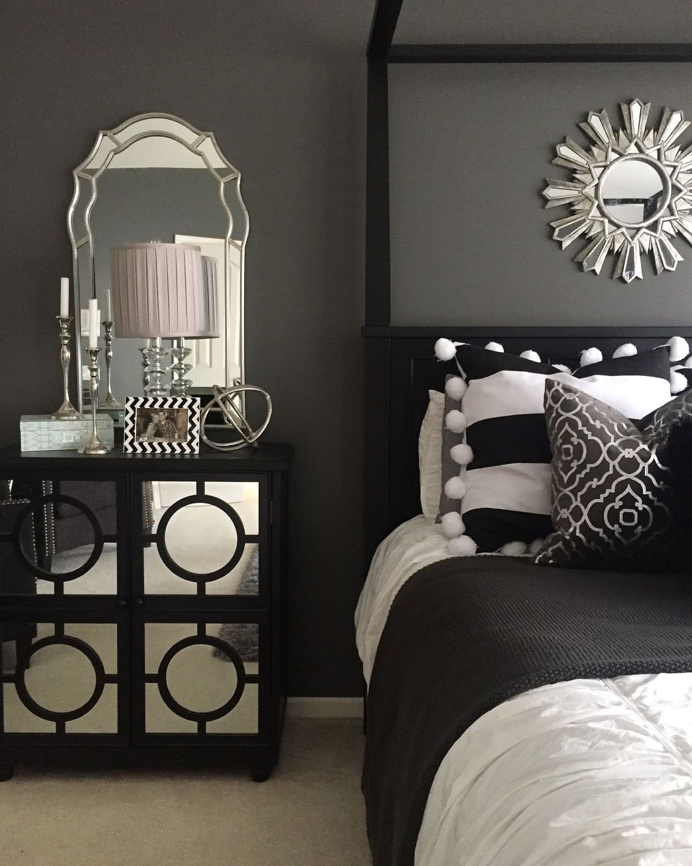 quartop usando preto e prata par auma combinação sublime