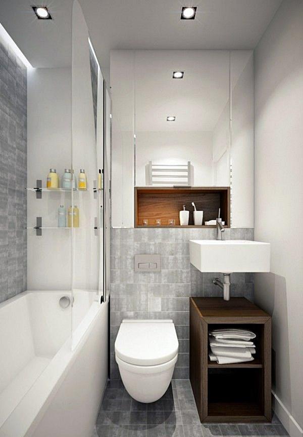 Banheiro quadrado 2x2 com banheiraa
