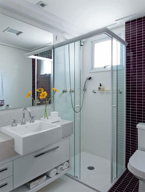 Banheiro quadrado 2x2