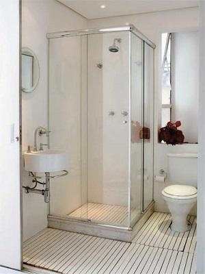 Banheiro quadrado comm box