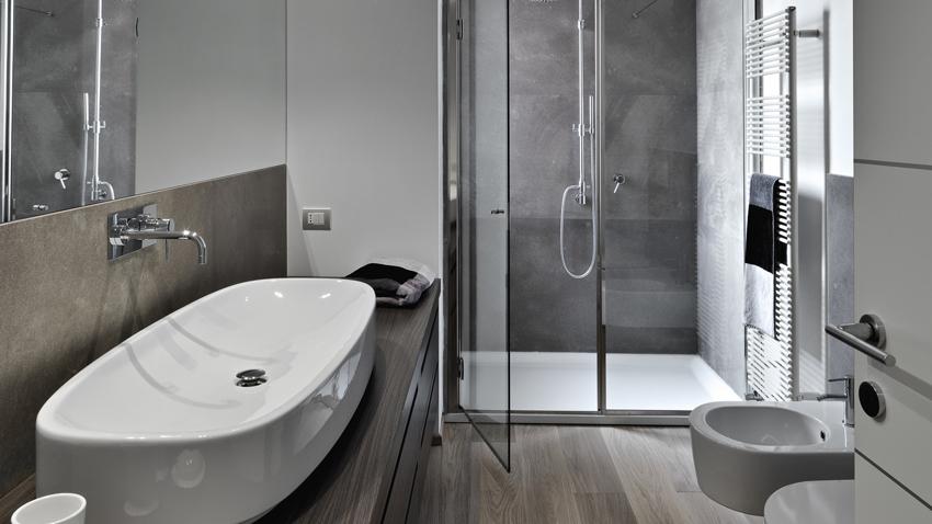 Banheiro quadrado decoradoo