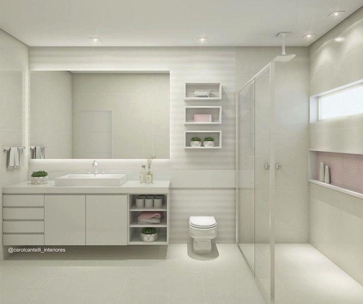 Banheiro quadrado modernoo