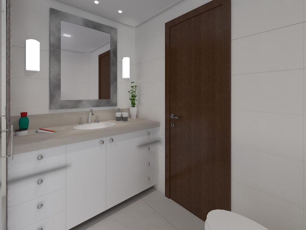 Banheiro quadrado simpless