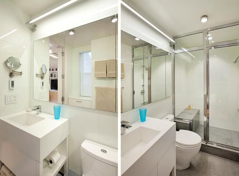 Banheiro quadradoo 2x2