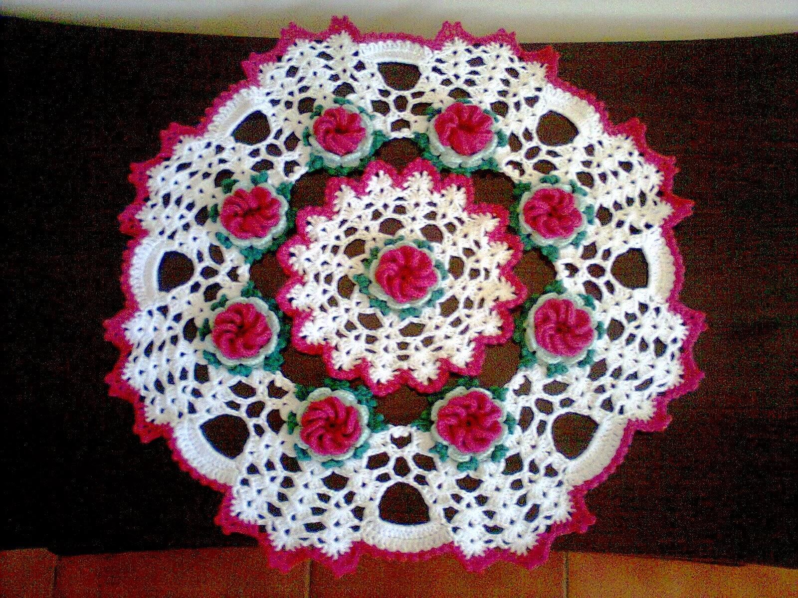 espiral usada para fazer flores de crochê em forma de caracol