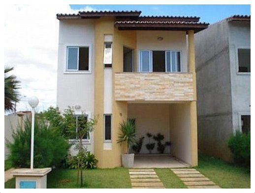 Casas bonitas pequenas dois andares