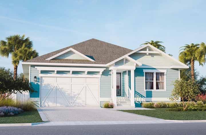casas bonitas com madeia em azul na pare de fora