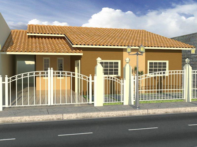 casas bonitas com tamanho reduzido