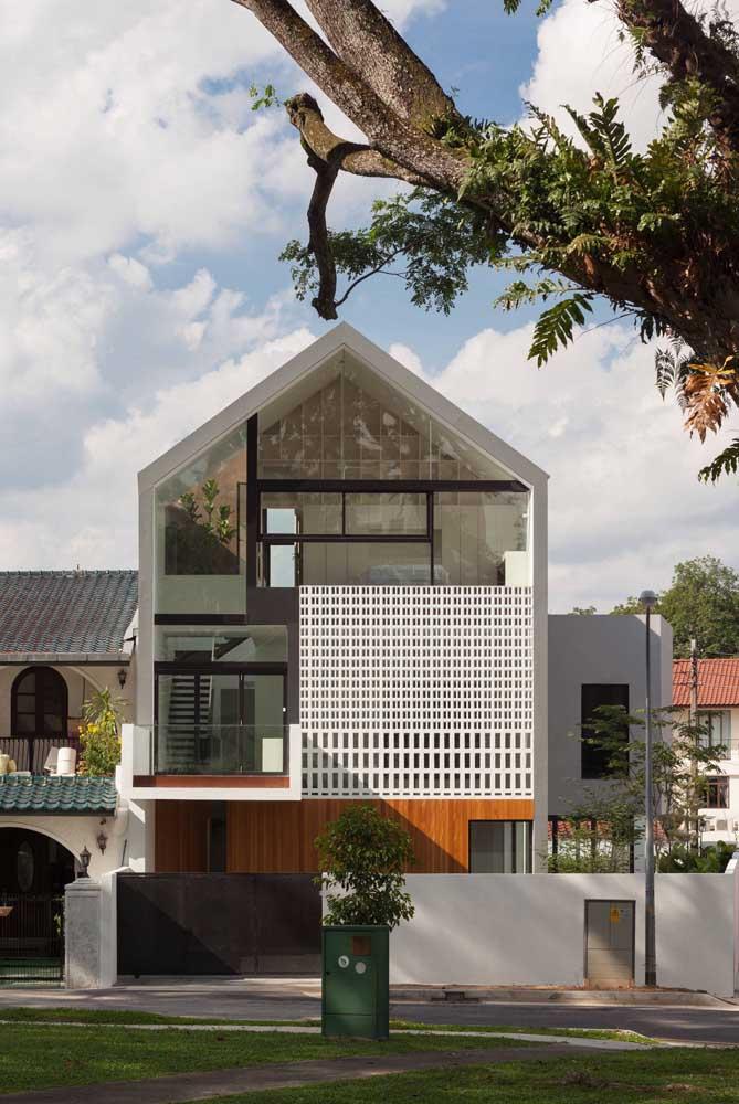 estilho de telhado moderno