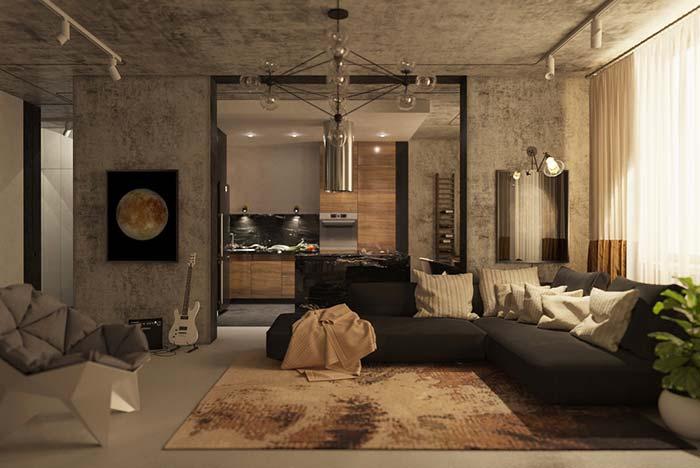 tapetes e cores modernas