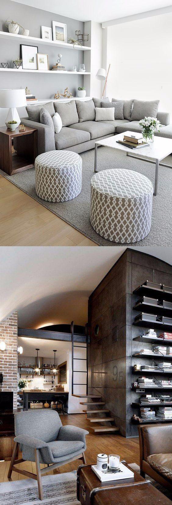 Apartamentos decorados veja 100 fotos de decora es ao for Departamentos pequenos modernos decorados