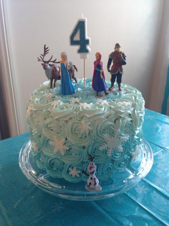 Bolo Da Frozen Veja 70 Modelos Para Deixar Sua Festa