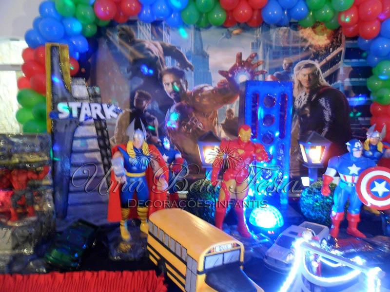 Festa dos Vingadores Veja 60 Modelos Para Se Inspirar Com Dicas