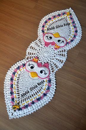 Caminho De Mesa De Crochê 70 Modelos Com Gráficos E Passo A