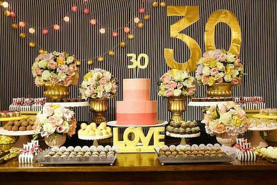 Festa De 30 Anos Veja 60 Fotos E Dicas Para Fazer Uma Festa Incrível