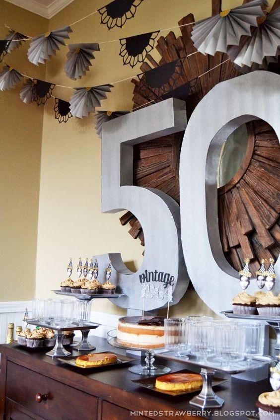 Festa De 50 Anos Veja 50 Modelos Com Fotos Dicas E