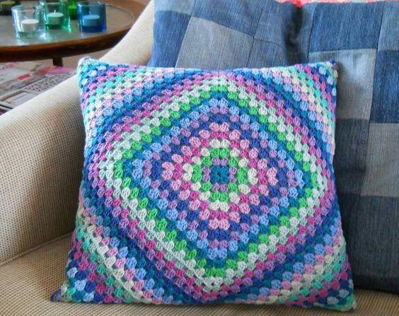 capa de almofada de crochê 2