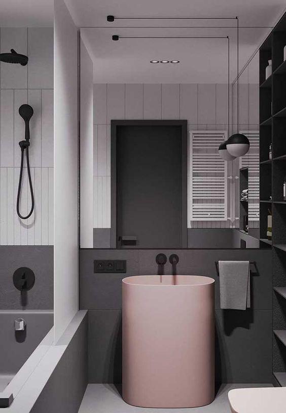 banheiro preto e branco 2